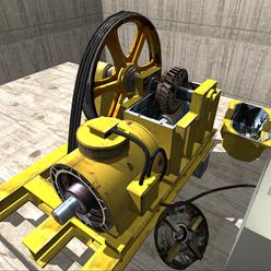 模拟电梯3d