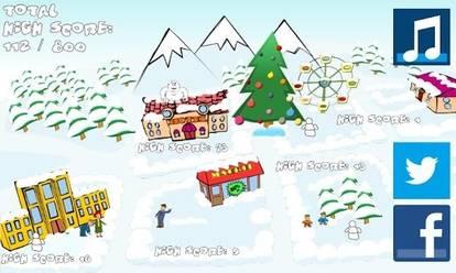 冬季打雪仗