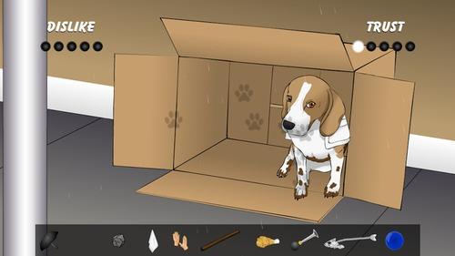 卡通图片背景边框带图小狗狗
