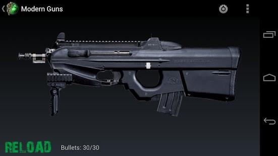 现代战争枪支手机游戏图片欣赏