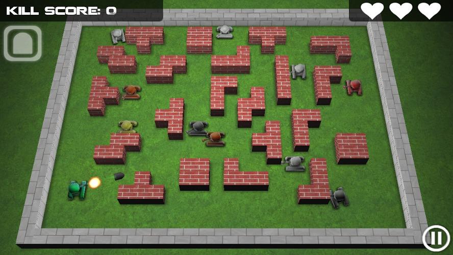 坦克英雄手机游戏图片欣赏