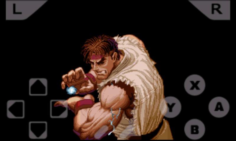 超级街头霸王Ⅱ手机游戏图片欣赏