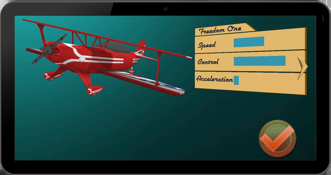 空中特技飞行员3d飞机游戏