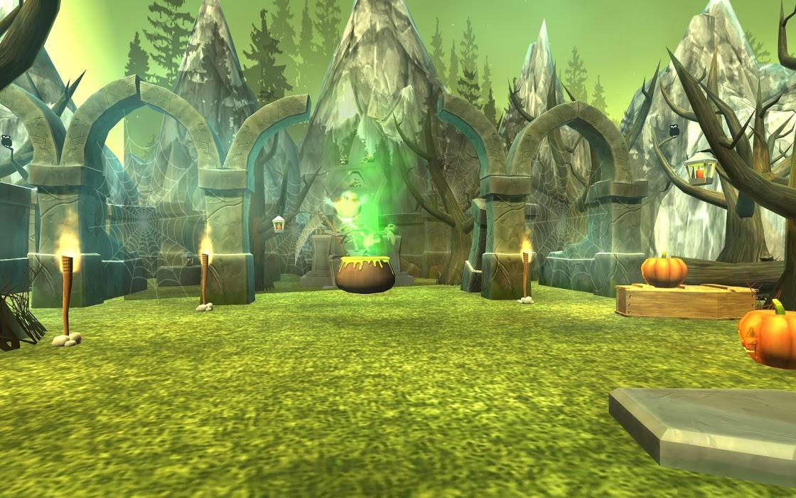 虚拟现实参观恐怖的坟墓用地手机游戏图片欣赏