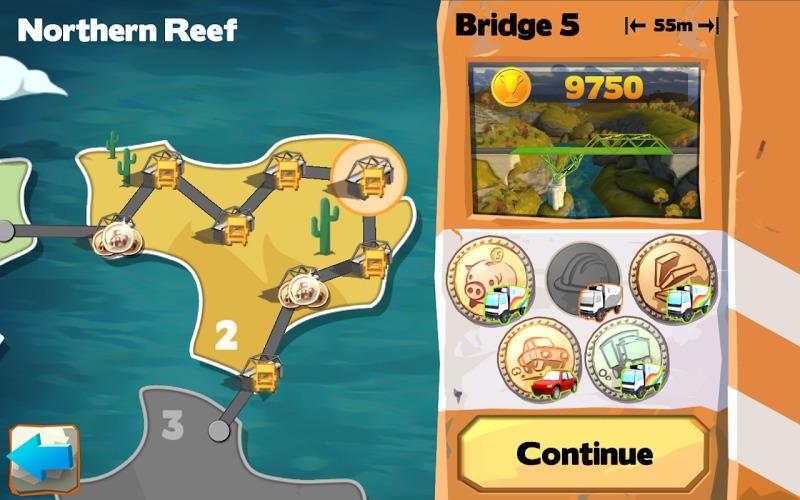 桥梁构造者:游乐场手机游戏图片欣赏