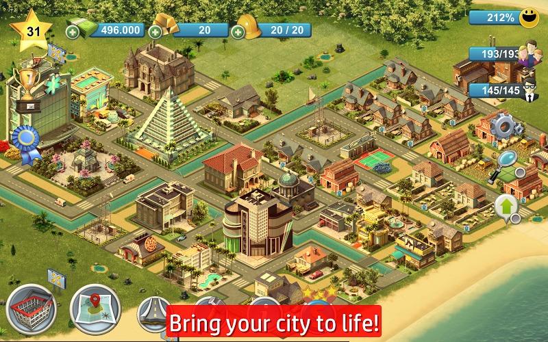 岛屿城市4:模拟人生大亨手游_最新手机版免费下载