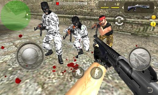 反恐行动3D手机游戏图片欣赏