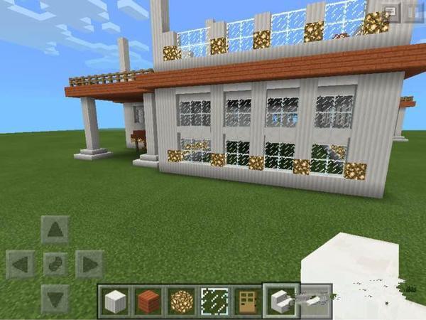我的世界别墅教程_我的世界小别墅建造图文教程