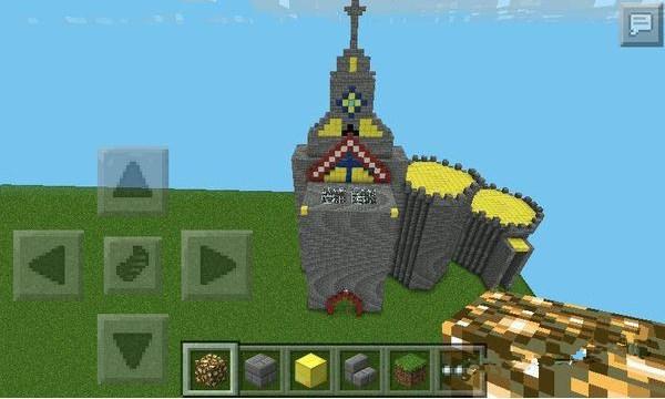 我的世界城堡设计图_minecraft城堡建筑