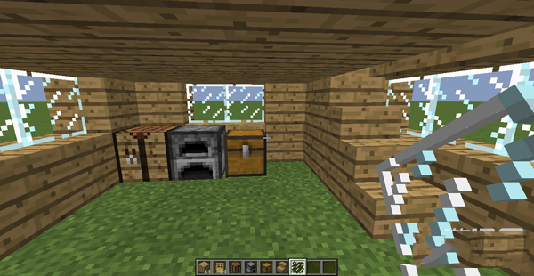 我的世界建筑设计图_minecraft《我的世界》房子教程