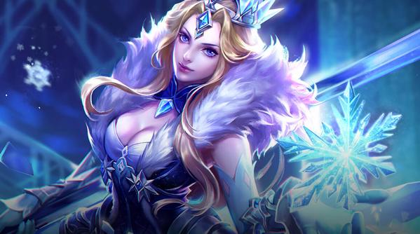王者荣耀雅典娜新皮肤冰冠公主特效一览
