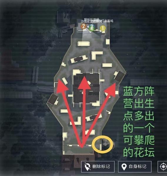 和平精英4V4仓库地图卡位点推荐