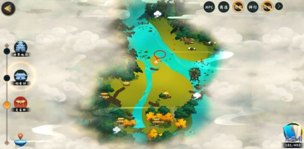 剑网3指尖江湖修为点位置大全:各门派修为点位置一览[视频][多图]图片5