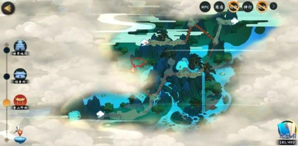 剑网3指尖江湖修为点位置大全:各门派修为点位置一览[视频][多图]图片6
