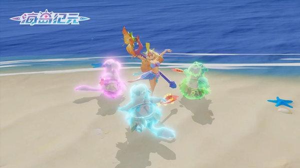 夏日狂欢《海岛纪元》新版本玩具系统逗趣亮相